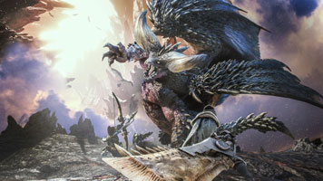 Monster Hunter World s'est mise à jour