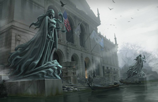 The Sinking City part à l'exploration