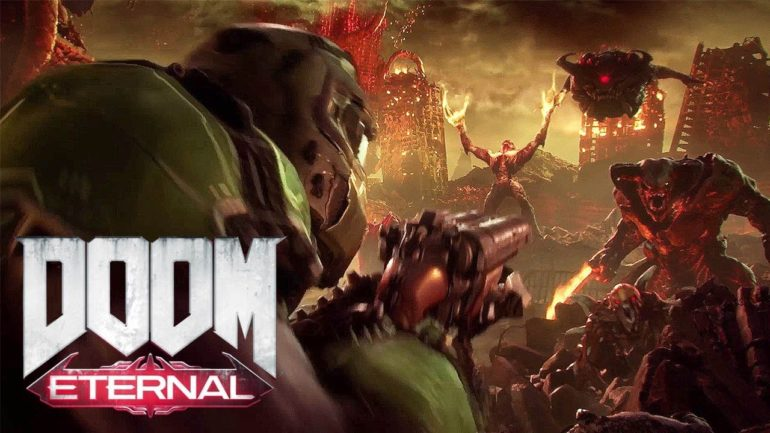 DOOM Eternal assure sa pub !
