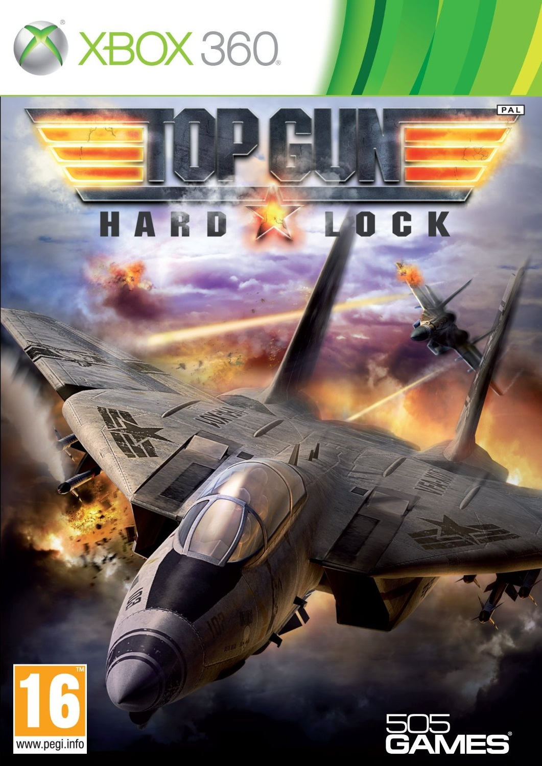 Top Gun Hard Lock XBOX360 [UL]