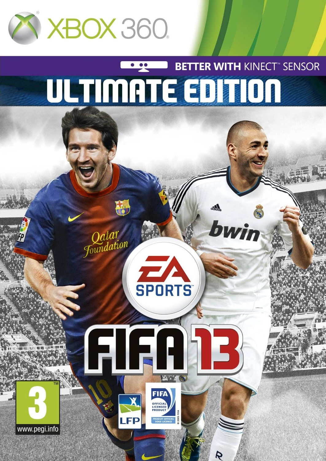 image fifa 13 jeux vid o xbox 360. Black Bedroom Furniture Sets. Home Design Ideas