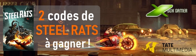 affiche jeu concours steel rats Xbox Gamer